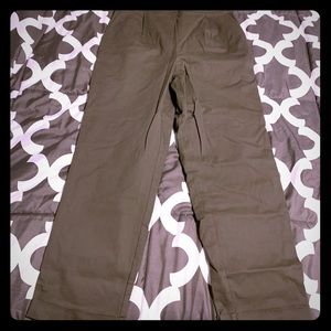Olive ankle pants